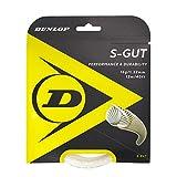 Dunlop 624831 Cordaje de Tenis, Unisex-Adult, Blanco, Talla Única