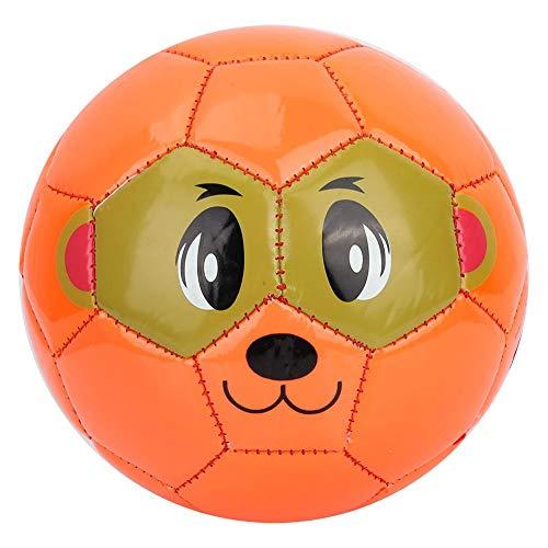 Alomejor Kinder Fußball Größe 2 Sport Kinder Fußball Orange für Kinder Jungen & Mädchen