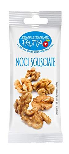 Eurocompany Noci Sgusciate 'Semplicemente Frutta' - La Frutta Senza Zuccheri Aggiunti e Senza Conservanti - 12 bustine da 25g