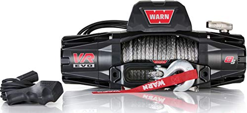WARN VR Evo 8-S 12v Synthetic Electric Winch with Wireless