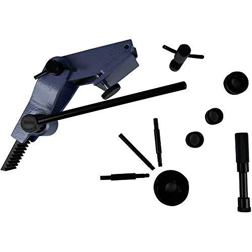 Universal-Biegegerät 803774 Flachmaterial bis 40 mm Breite und 4 mm Dicke, Rohre in den Ø 4, 6, 8 und 10 mm und rundes