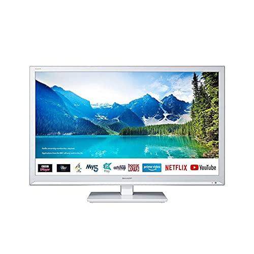 Sharp 1T-C24BC0KR1FW White 24' Smart Televis