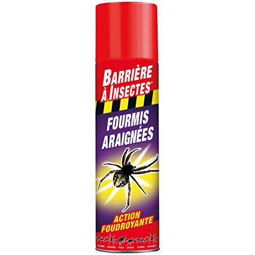 BARRIERE A INSECTES Vaporisateur contre les Insectes Rampants, Prêt à l'emploi, Pour l'intérieur, 400 ml, BARAMP400
