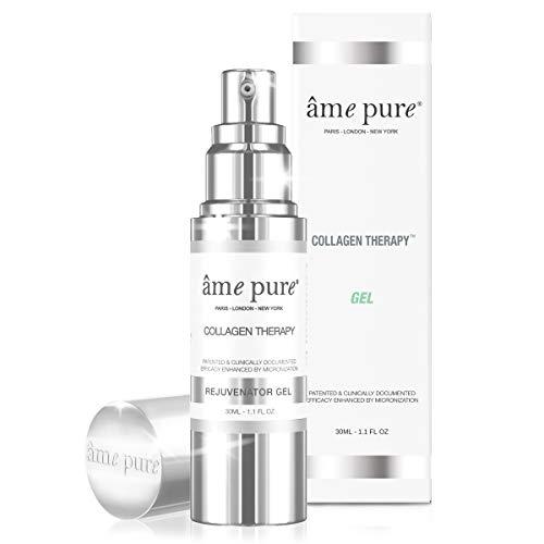 âme pure® Collagen Therapy Gel 100% natürliche Behandlung zur Verringerung der Poren und zur Glättung feiner Fältchen mit Betox-93® Wirkstoff (30 ml)