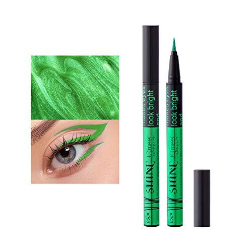 Mimore Delineador de ojos líquido colorido,Lápiz delineado