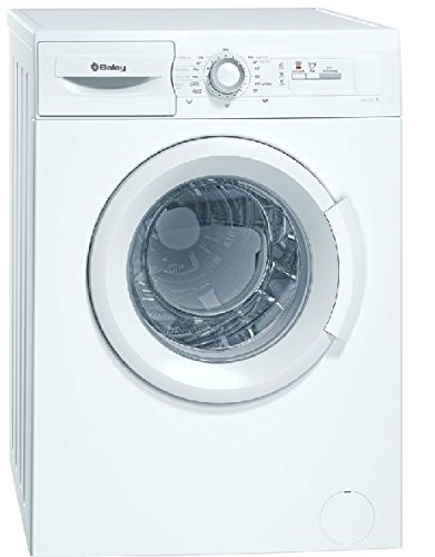 Balay 3TS853B Independiente Carga frontal 5.5kg 955RPM A+ Blanco - Lavadora (Independiente, Carga frontal, Blanco, Botones, Giratorio, Izquierda, 1,6 m)
