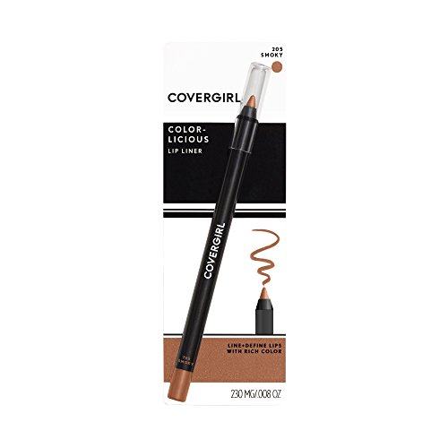 COVERGIRL Colorlicious Lip Perfection Lip Liner Smoky 205, .04 oz (packaging may vary)