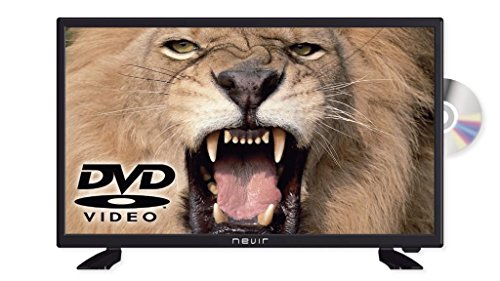 Nevir - TV Led 24 Nvr-7412-24Hd-Dvd-N, HD, 12V, DVD Incorporado, USB, Hdmi, Modo Hotel