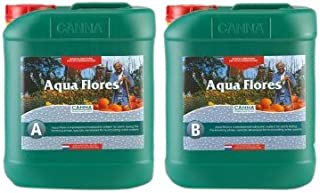 CANNA Aqua Flores A Plus B (Flower), 5 L Set