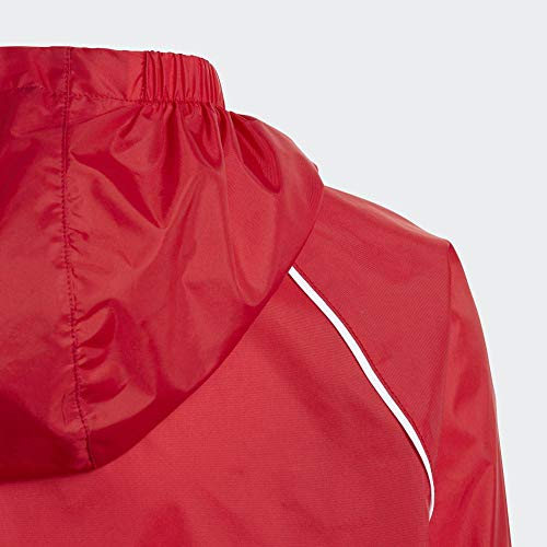 adidas Kid's CORE18 RN JKT Y Sport Jacket, power red/White, 13-14 Years (XL)