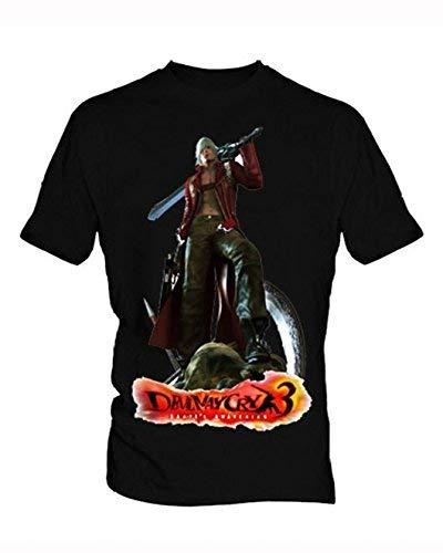 NR KAIZOD Devil May Cry Black Men's T-Shirt