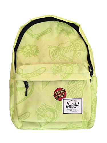 Mochila Santta Cruz Collabo Herchels 30 litros New Edition Amarillo amarillo XL - 30 Litri -
