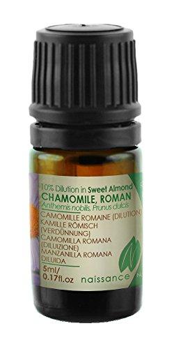 Naissance Manzanilla Romana - Aceite Esencial 10% Dilución en Aceite de Almendras Dulces...