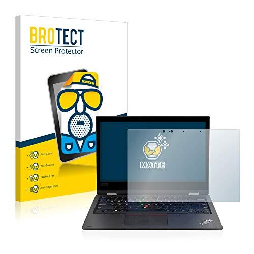 BROTECT Entspiegelungs-Schutzfolie kompatibel mit Lenovo ThinkPad L390 Yoga Bildschirmschutz-Folie Matt, Anti-Reflex, Anti-Fingerprint