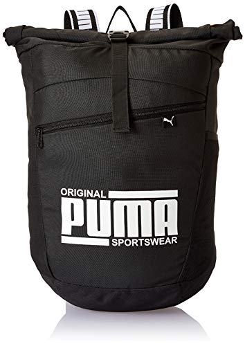 Puma Sole Backpack Mochilla, Unisex, Black, OSFA