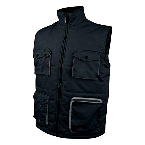 Delta Plus STOC2NO3X Mach vest met veel zakken, Large, zwart-grijs