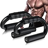 AIR-ONE SPORTS Push Up Bars (XL Size, 600lbs), Extra Thick Foam Grip, Perfect Push up Handles for Floor, Strength Training Equipment at Home Workout