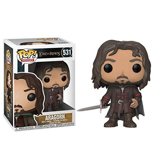 MXDer Herr der Ringe POP Figuren: Aragorn Action-Figur Vinyl Sammler Exquisite Skulptur Geschenk