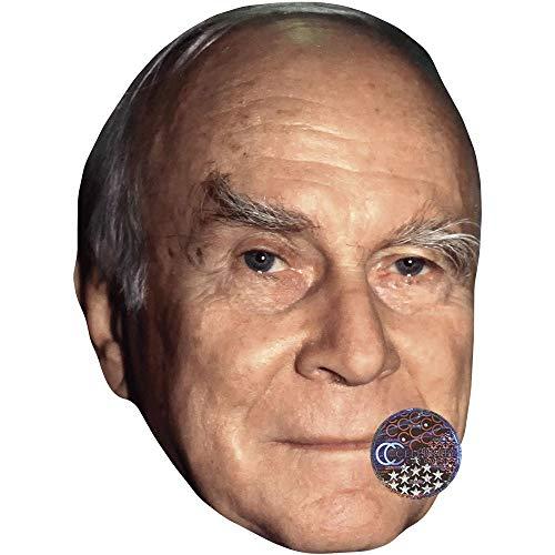 Celebrity Cutouts Vicco Von Bulow (Loriot) Maske aus Karton