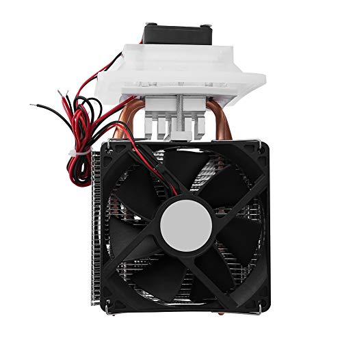 12VDisipador Peltier Sistema Semiconductor Refrigeración Kit- termoeléctrico Peltier Cooler - Aire de Refrigeración del Disipador de Calor Deshumidificación Sistema Kit