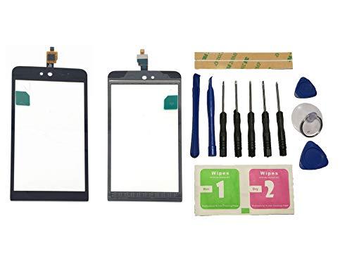 Flügel für Wiko Rainbow Jam 3G Touchscreen Display Digitizer Glas Schwarz Bildschirm Frontglas (Ohne LCD) Ersatzteile & Werkzeuge & Kleber