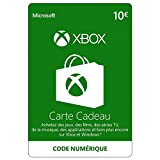 Avec Crédit Xbox Live de 10 EUR vous pouvez acheter n'importe quel jeu ou DLC disponible dans la boutique Xbox. Alternative à l'utilisation de votre carte bancaire - acheter sur le Xbox Store sans avoir à fournir vos informations de carte bancaire. L...