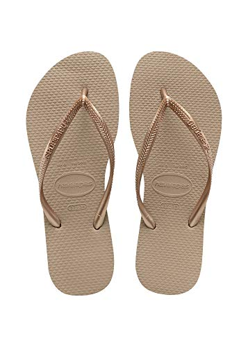Havaianas Slim Infradito Donna, Marrone (Rose Gold 3581), 39/40 EU (37/38 Brazilian)