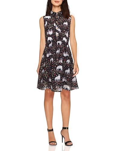 Sloth Sleeveless Shirt Dress