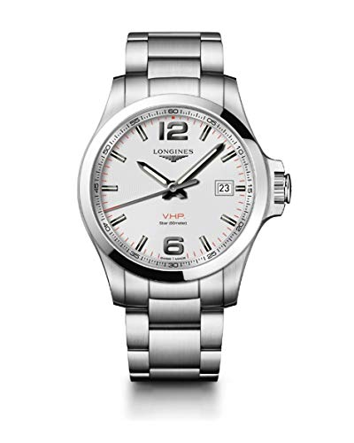 Longines Conquest L3.726.4.76.6 - Reloj de Pulsera (43 mm)