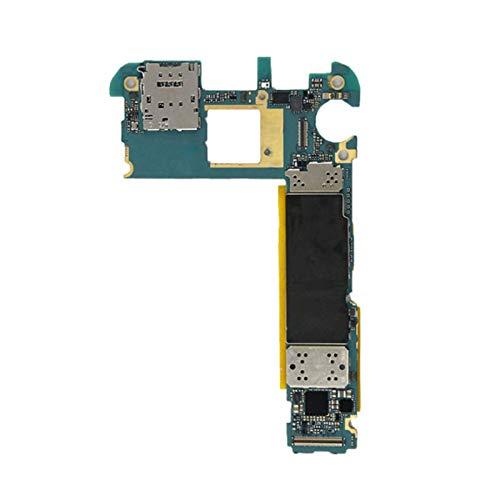 Tablero De Lógica De La Placa Base Del Teléfono Celular Ajuste Desbloqueado Fit For Samsung Galaxy S6 G925F Placa Base Con Fichas Plenas De La Placa Base De La UE Pieza repuesto teléfono celular placa