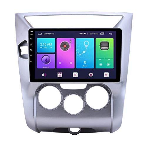 YLCCC Coche Estéreo Navigator Digital Resistivo FM Am Radio Receptor Player Multimedia con Bluetooth Mirror Link Call Racker for Nissan Venucia R50 D50 2012-2019,4 Core 4g+WiFi: 1+32gb