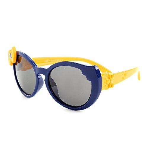 GQUEEN GQUEEN Gummi Flexible Polarisierte Kinder Sonnenbrille f¨¹r Jungen M?dchen Baby und Kinder Alter 3-6,ET60