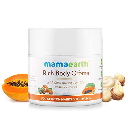 Mamaearth Stretch Marks Cream to Reduce Stretch Marks & Scars (100 ml) Cream