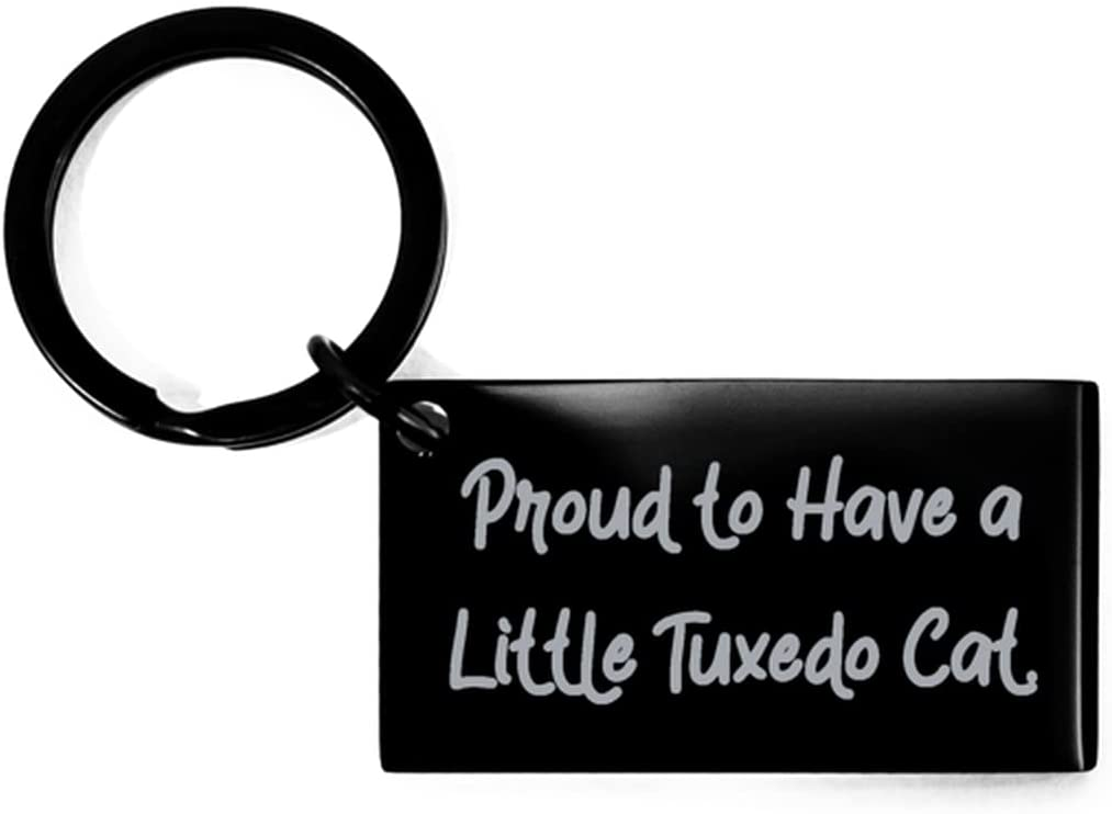 Useful Tuxedo Cat Gifts, Proud to Have a Little Tuxedo Cat, Cool Holiday Gifts from Cat Lovers