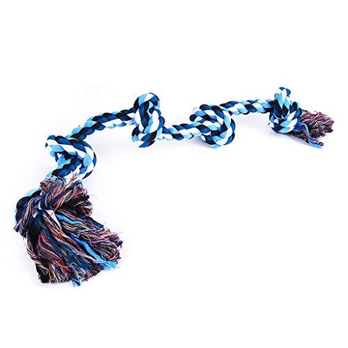 WT-DDJJK Colgante Colgante, Cuerda para Masticar Perro, Nudos, Juguetes, Indestructible, Resistente, Agresivo, masticadores, Herramienta tranquilizadora