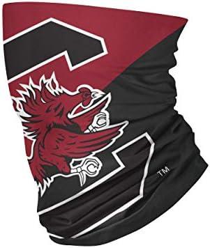 South Carolina Gamecocks NCAA Big Logo Gaiter Scarf product image