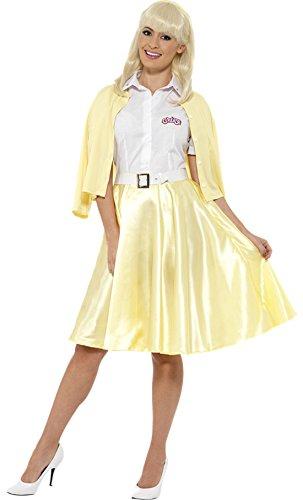 erdbeerloft - Damen Good Sandy Komplett Kostüm Karneval , Gelb, Größe L/XL