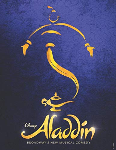 ALADDIN – Musical Broadway Tour Poster Print - 30CM X 43CM Brand New