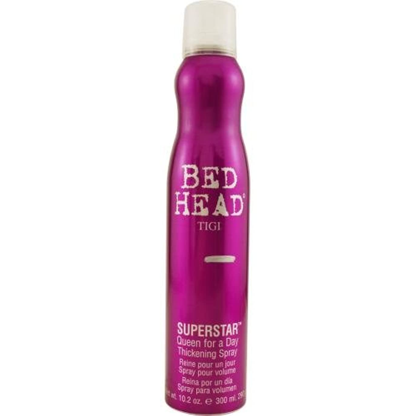 贈り物爆風透けるTigi Bedhead Superstar Queen For A Day Thickening Spray New