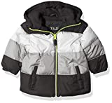 iXtreme Baby Boys' Colorblock Puffer, Black, 24M