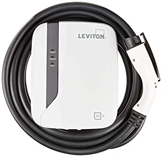Leviton EVR40-B25 Evr-Green E40 Charging Station, 40A, 208-240Vac, 9.6Kw Output, 25' Charging Cable, Hardwired (B01N7QYETS) | Amazon price tracker / tracking, Amazon price history charts, Amazon price watches, Amazon price drop alerts