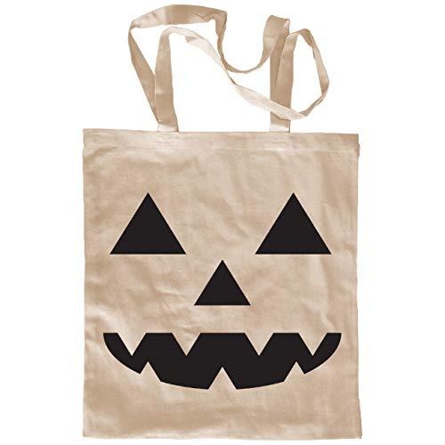 My Custom Style Einkaufstaschen aus Baumwolle gemischt #Halloween_A# Beige con manici da 70 Halloween-zucca_4