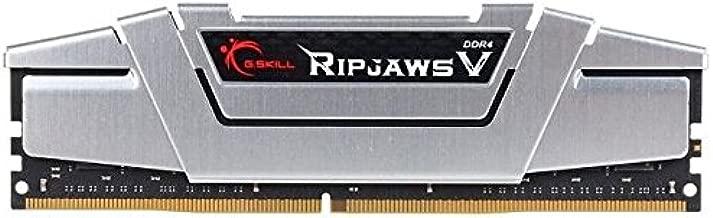 G.SKILL 16GB (2 x 8GB) Ripjaws V Series DDR4 PC4-21300 2666MHz for Intel Z170 Platform / Intel X99 Platform Desktop Memory Model F4-2666C15D-16GVS