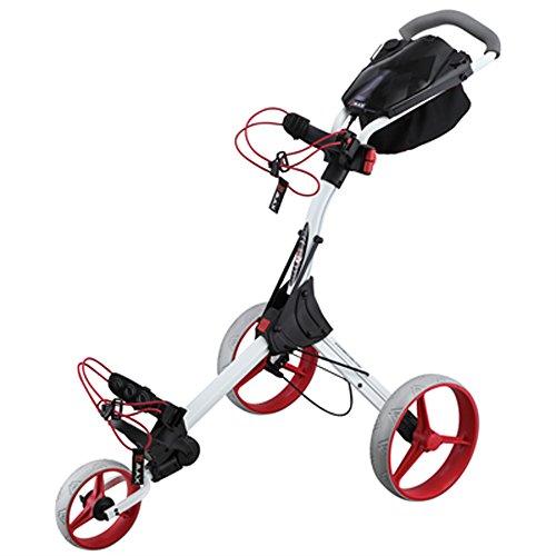 Big Max IQ Plus Chariot De Golf - Blanc Rouge