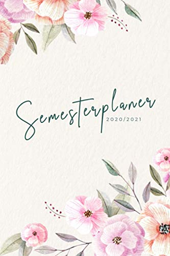 Semesterplaner 2020/2021: Uni- und Studentenplaner mit Tagesplaner, Notenliste, Vorlesungsplan, Jahreskalender uvm. (150 Seiten, ca. DIN A5)