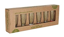 Gifts for eco warriors - recycled shot glasses