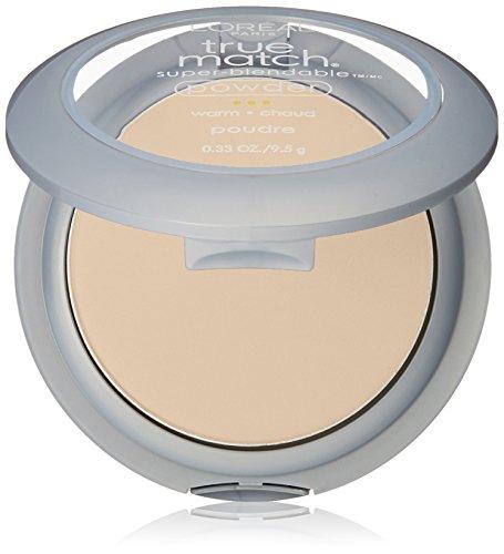 Price comparison product image L'Oreal Paris True Match Super-Blendable Powder,  W1 Porcelain (Warm) 0.33 Oz