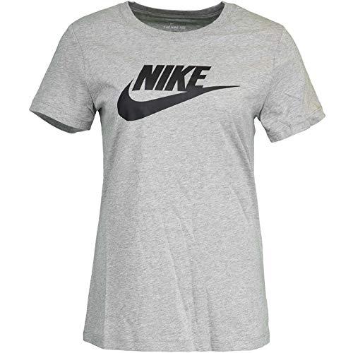 Nike Essential Futura Icon - Camiseta para mujer gris oscuro. M