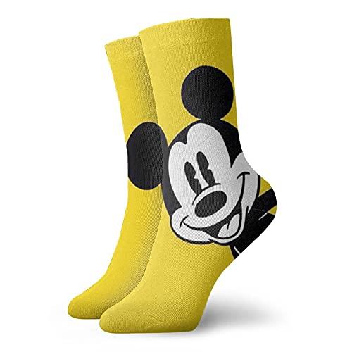 Mickey Cartoon Mouse Calcetines casuales y de moda super suaves y cómodos calcetines transpirables de algodón