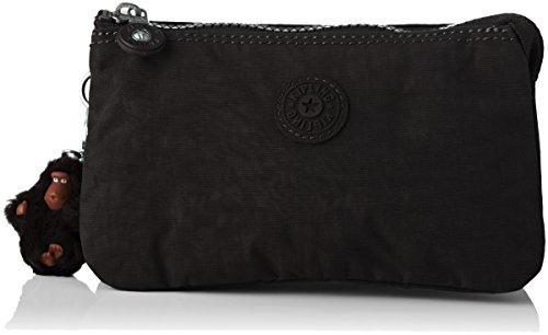 Kipling Creativity L, Portamonete Donna, Nero (True Black), 18.5x11x5...